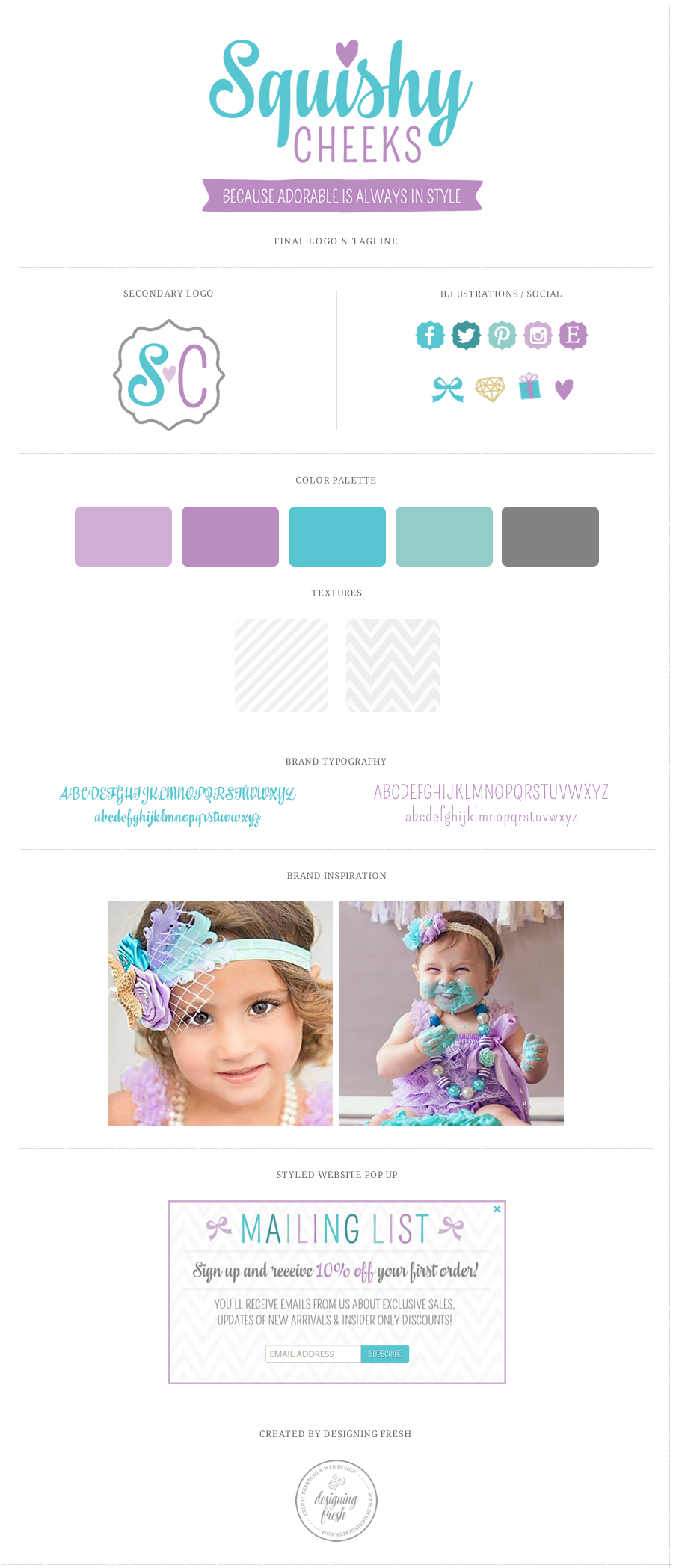 Squishy Websites : Squishy Cheeks Accessories for Baby / Shopify Boutique Web Design