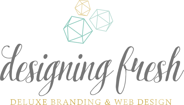 Designing Fresh · Deluxe Boutique Web Design -